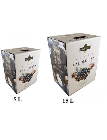 BOX 5L VALDEOLIVA Tinto